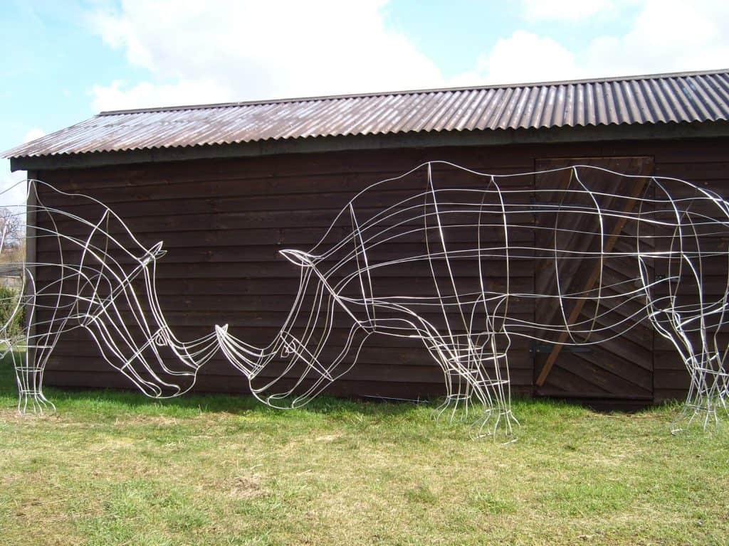 Rinoceros Topiary Frames
