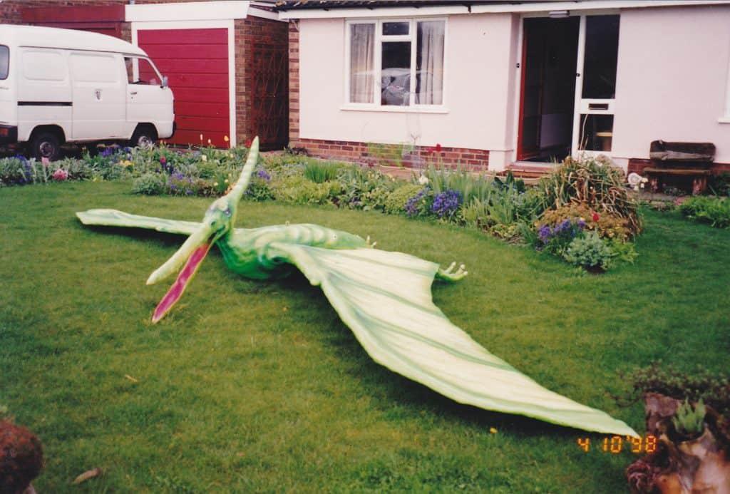 Dinosaur Pterodactyl Stage set prop