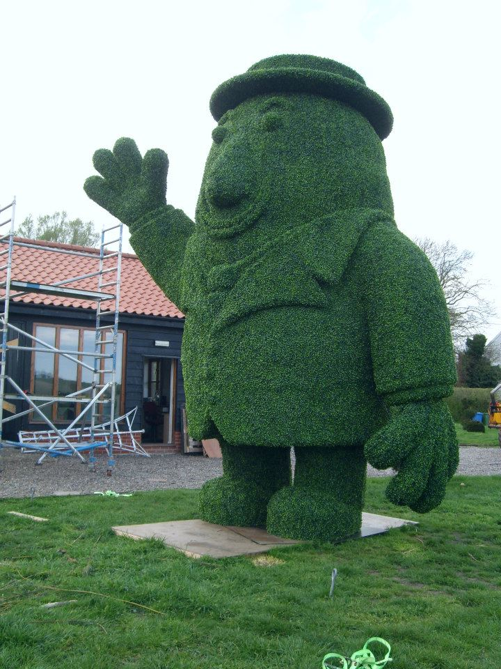 Potato Man Artificial Topiary