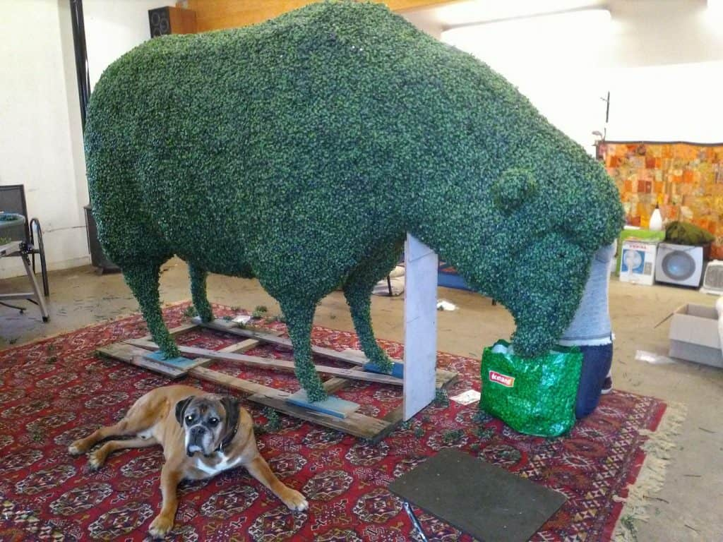 Sheep Artificial Topiary