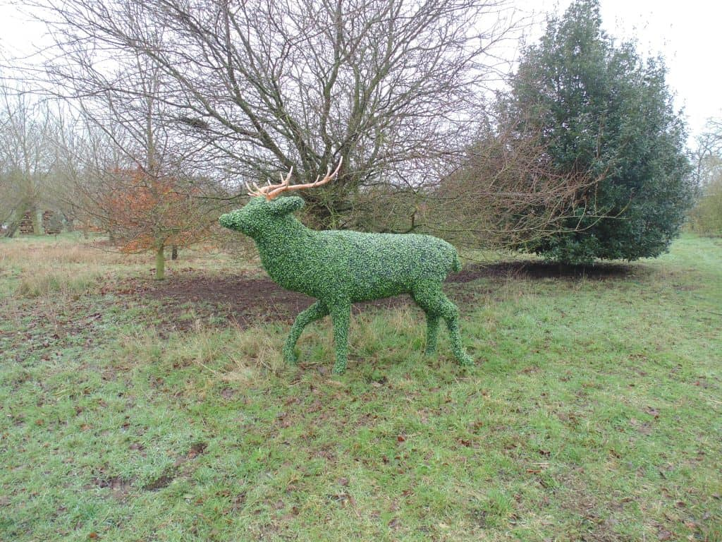 Stag Artificial Topiary