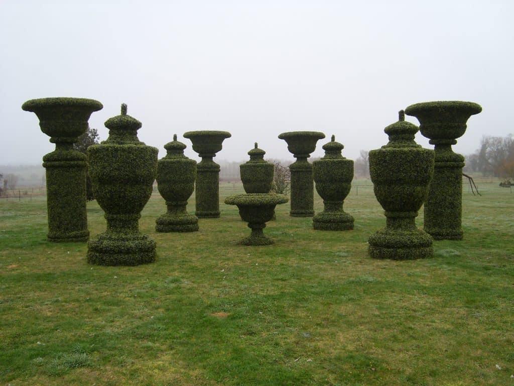 Topiary Urns (2)